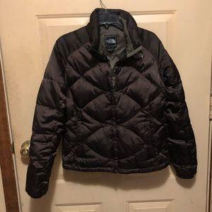 North Face Women's Dark Brown Down Jacket